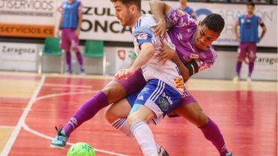 El Palma Futsal manda a la lona al Emotion Zaragoza en el último minuto