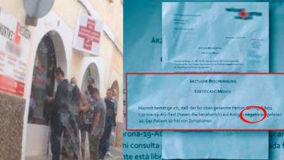 Amplían la investigación del médico alemán que expedía PCR falsos a turistas