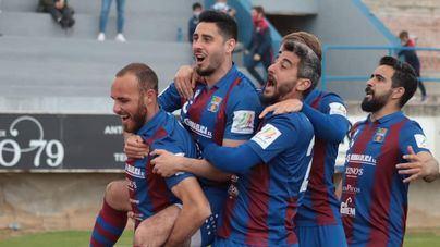 Optimismo en el Poblense tras la primera victoria de la temporada como local
