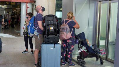 El aeropuerto de Palma recibe este miércoles casi 30 vuelos procedentes de Alemania