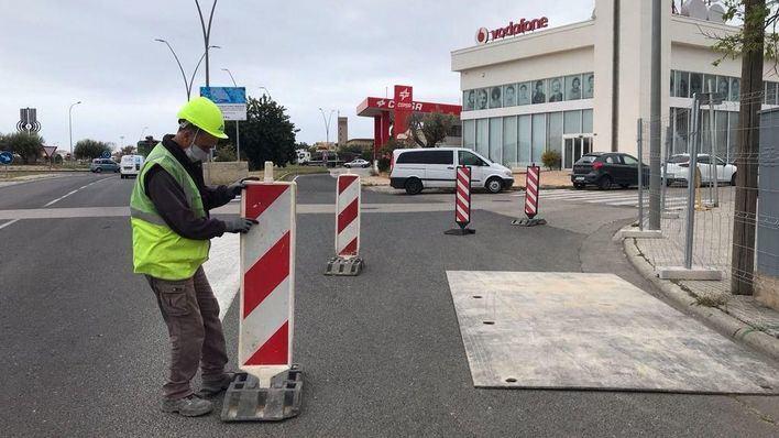 Comienzan las obras para separar la red de aguas del polígono de Son Castelló