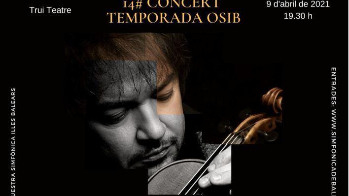 La Sinfónica y Sergej Krylov interpretarán el concierto para violín de Mendelssohn en el Trui Teatre