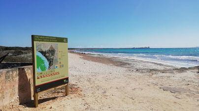 El parque natural de es Salobrar, en Campos, acoge la instalación de 26 indicadores