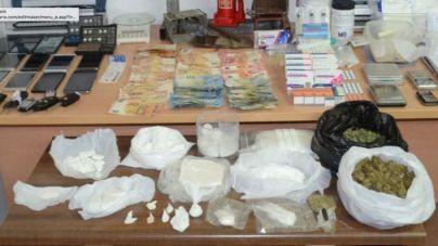 Cuatro detenidos por traficar con cocaína en Menorca