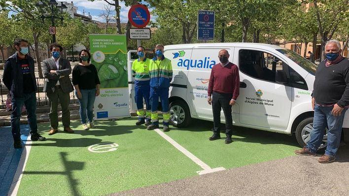 Muro incorpora un vehículo eléctrico a la flota del Servicio Municipal de Aguas