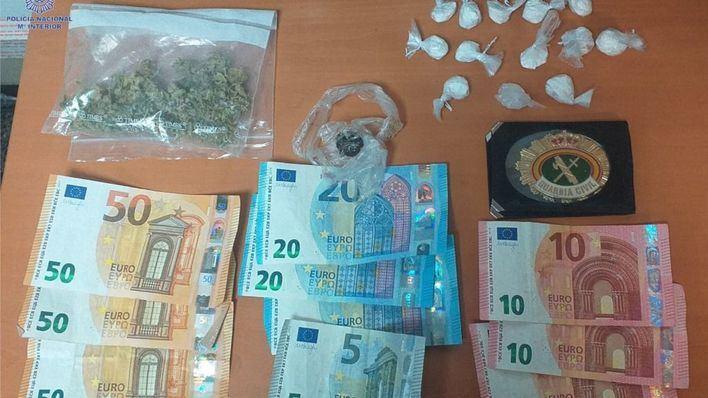 Un conductor es detenido en Son Armadans tras ser localizado un cargamento de droga en el vehículo