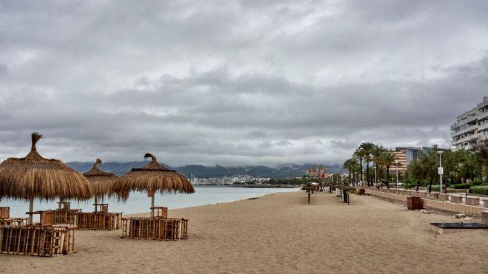 Lluvia con barro en Baleares este viernes