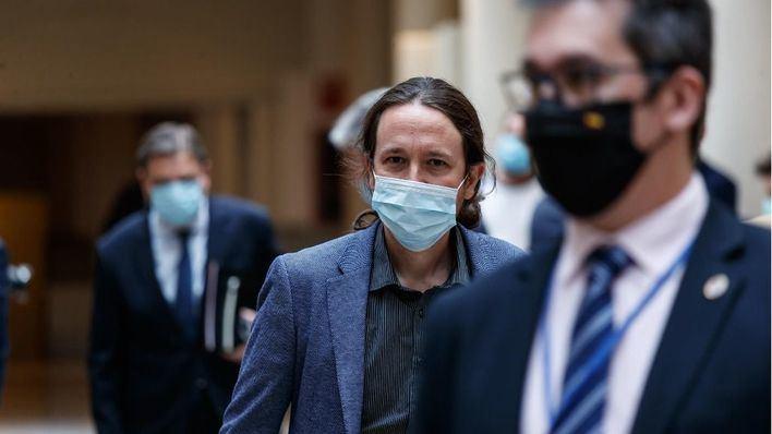 Iglesias cobrará una indemnización de 5.300 euros como exvicepresidente hasta entrar en la Asamblea de Madrid