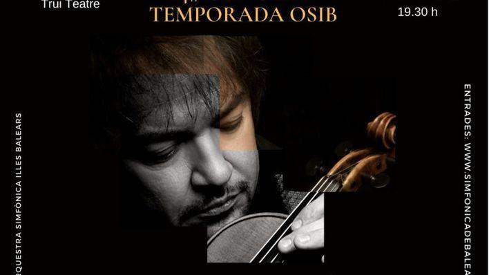 La Sinfónica y Sergej Krylov interpretarán este viernes el concierto para violín de Mendelssohn