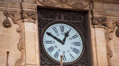 El reloj de Cort no funcionará a partir del lunes para proceder a su reparación