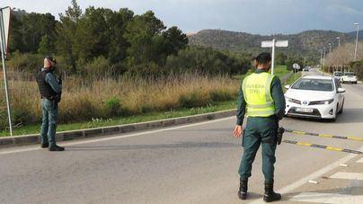 Dos arrestados en un control de carretera por tráfico de drogas