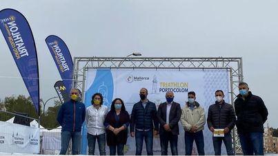 Todo listo para el inicio de la vigésimo tercera edición del Triathlon de Portocolom