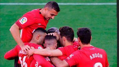 El Mallorca se impone al Lugo y mantiene intactas sus opciones de ascenso directo