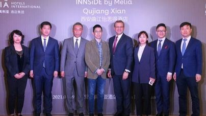 Meliá Hotels International firma su tercer hotel en Xian, expandiendo su presencia 'bleisure' en China
