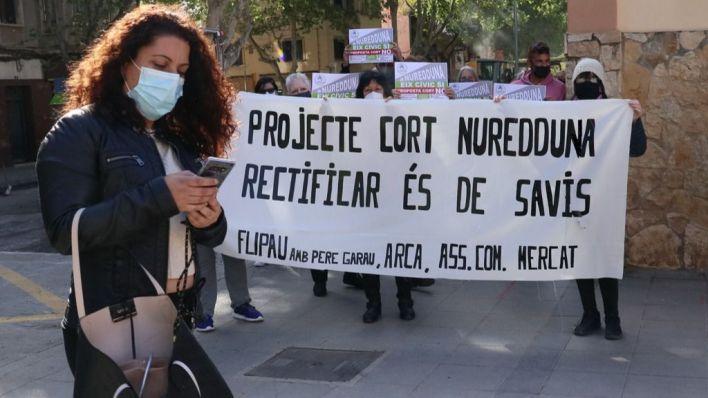 Vecinos de Pere Garau, sobre las obras en el Mercat: