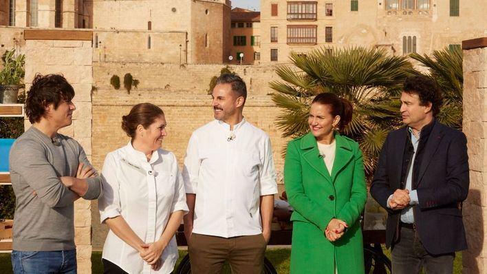 'MasterChef' estrena su novena temporada con un cocinado solidario en Palma con la sobrasada protagonista