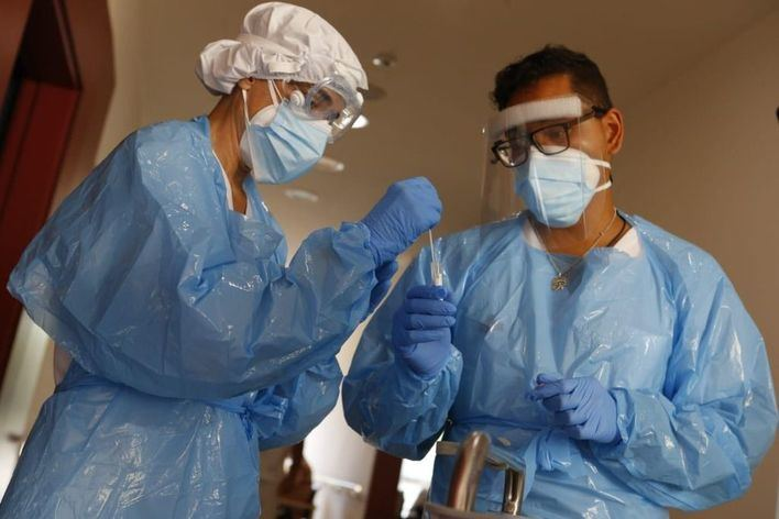 58 nuevos contagios, ningún muerto y se reduce un 14 por ciento la presión hospitalaria