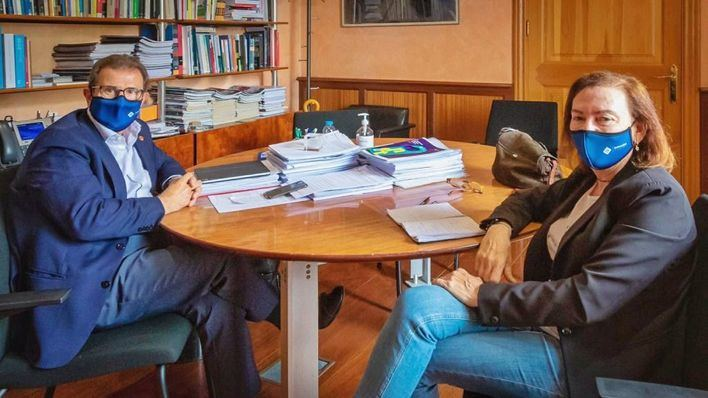 Carmen Orte reclama al rector de la UIB 'neutralidad' en el próximo proceso electoral