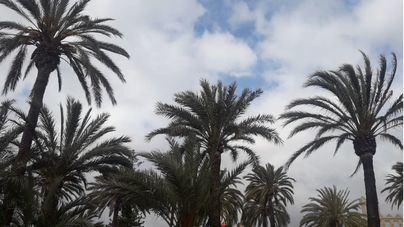 Cielos poco nubosos y bajada de las temperaturas en Baleares