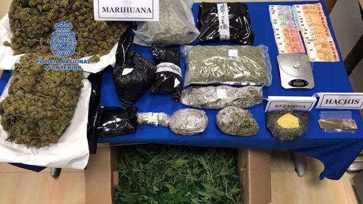 Detenidos en Ibiza por cultivar marihuana destinada al mercado italiano