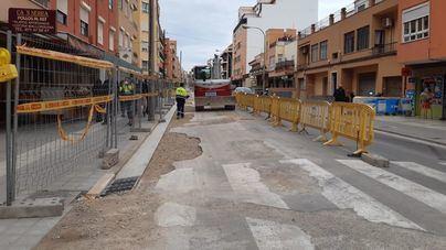 Cort ejecuta obras de reurbanización en la barriada del Rafal Vell