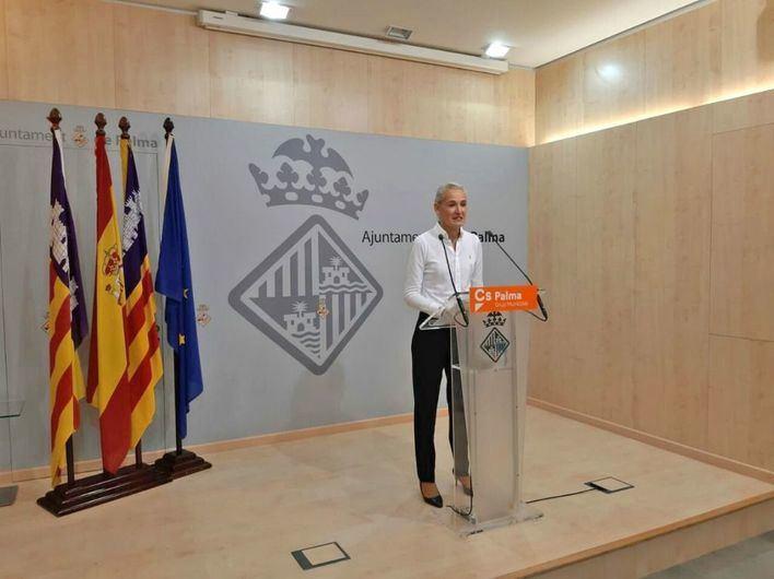 Cs Palma pide al ayuntamiento un área recreativa y polivalente en Son Gual