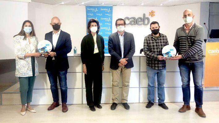 Innovation Strategies y Tres Glops, ganadoras de los premios CAEB-SANITAS a las pymes saludables