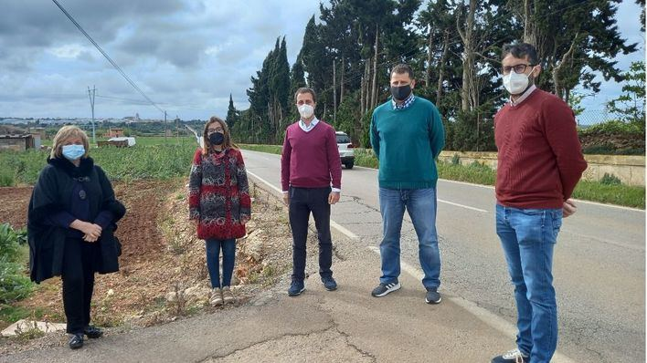 El PP reclama ensanchar la carretera Sa Pobla-Muro