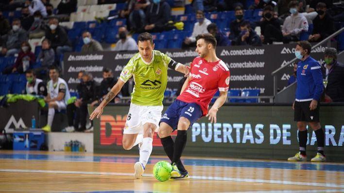 El Palma Futsal se impone a Osasuna Magna Xota en un final de infarto (5-4)