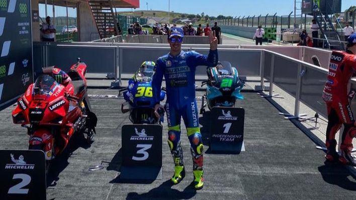 Mir sube al podio en el GP de Portugal