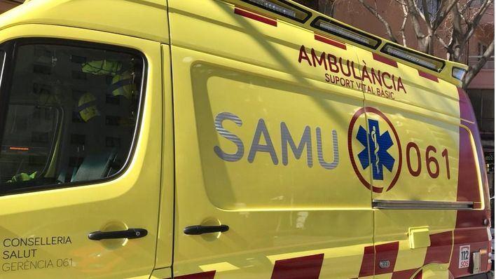 Herido grave un motorista de 19 años al impactar contra un coche en Son Ferriol