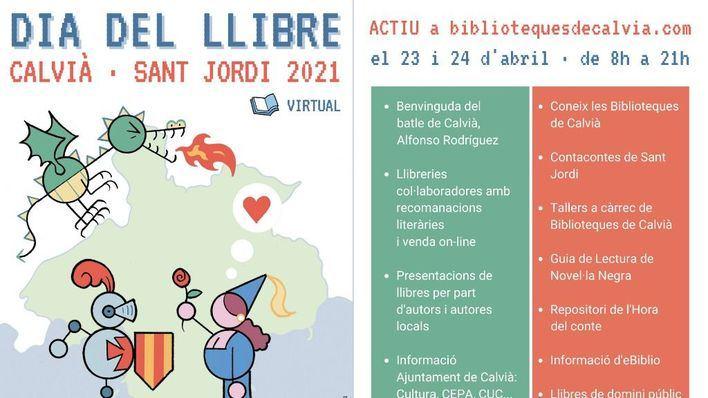 Calvià celebra el Día del Libro Virtual