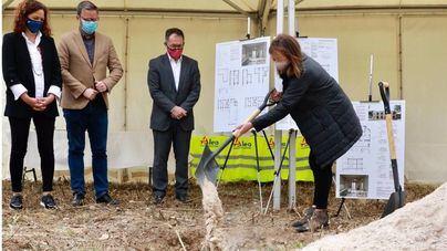 Armengol coloca la primera piedra de dos promociones de vivienda pública en Palma