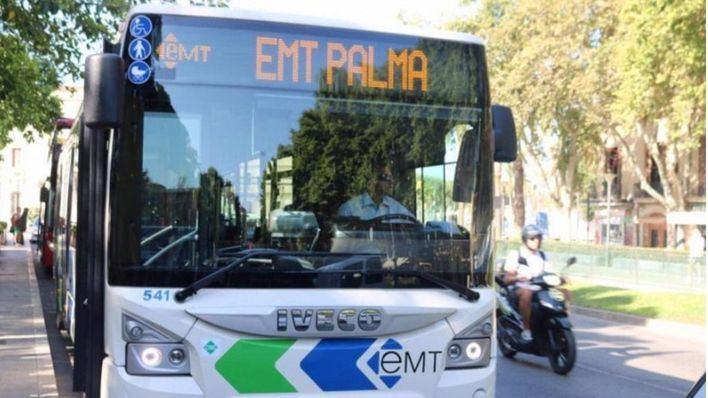 Seis líneas de bus de Palma disponen de paradas próximas a puntos de vacunación