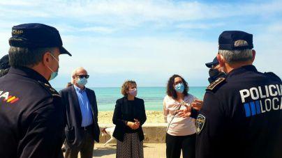 Playa de Palma vuelve a tener cámaras de videovigilancia en primera línea