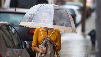 Lluvia y bajada de temperaturas hoy en Mallorca