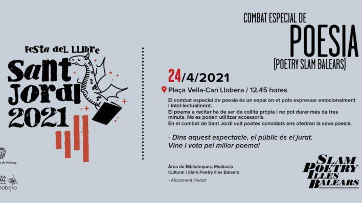 Pollença organiza un 'Slam Poetry' por Sant Jordi