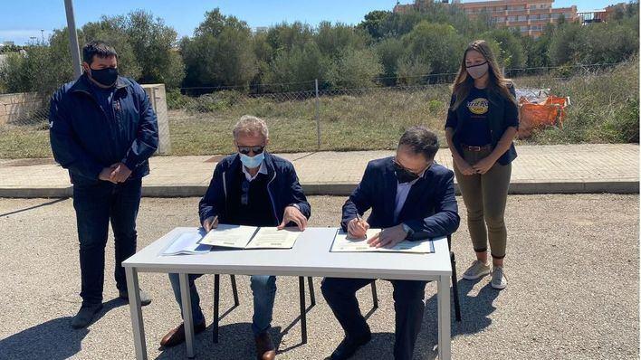 Sant Llorenç cede un solar al Ibavi para construir 15 viviendas públicas de alquiler