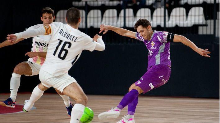Dura derrota del Palma Futsal en Santa Coloma