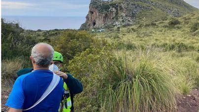 La Guardia Civil rescata a dos excursionistas heridos