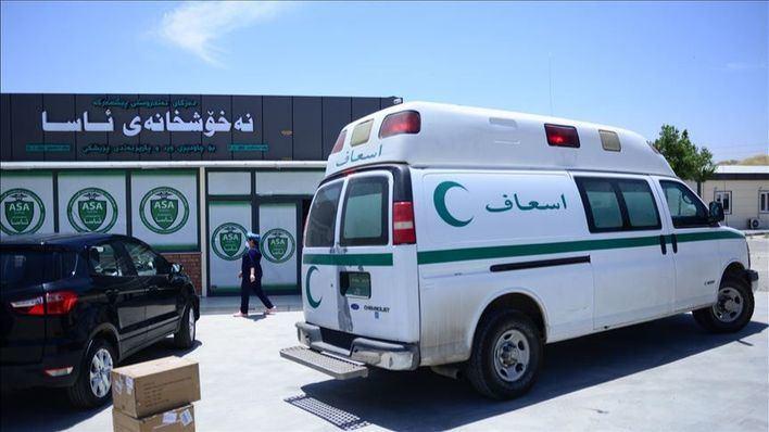 82 muertos en Irak al incendiarse un hospital que atendía a enfermos de Covid
