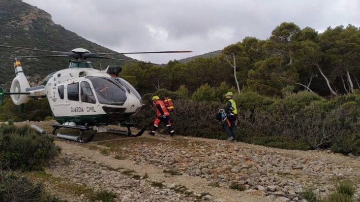 Evacuado a Son Espases a un trabajador del Parc de Sa Dragonera