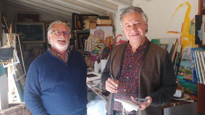 Jesús Camargo o la luz mediterránea en paisajes de Castilla y León