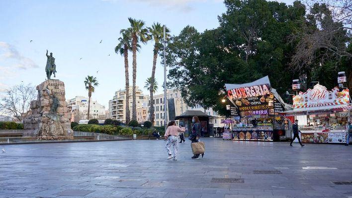 Detenido por manosearle el trasero a dos menores en Plaza de España