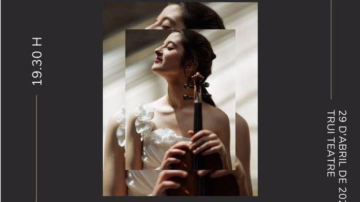 La Sinfónica y la violinista María Dueñas, este jueves en el Trui Teatre