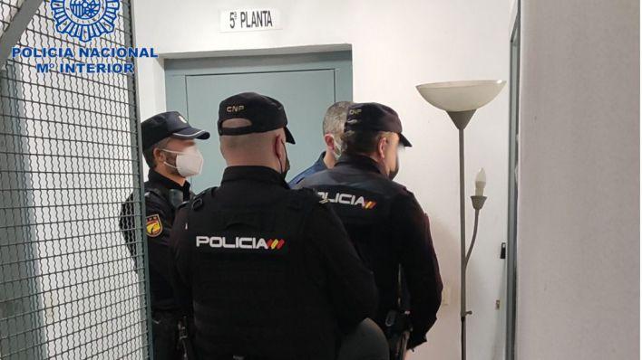 Detenida una pareja por okupar un piso en el Portixol mientras los dueños estaban hospitalizados