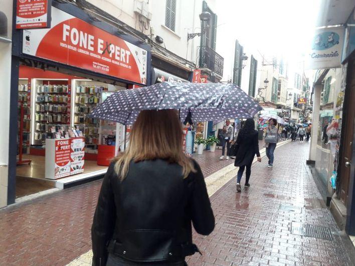 Vuelve la lluvia y bajan las temperaturas en Mallorca