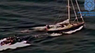 Dos narcos rusos, condenados por transportar nueve toneladas de hachís en un velero de Mallorca