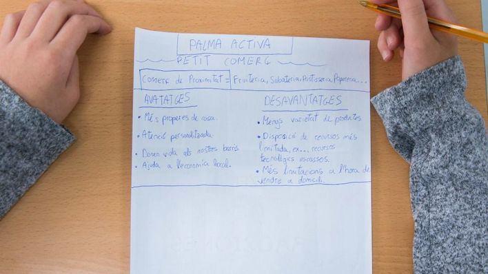 163 niños de Palma conocen el comercio de proximidad
