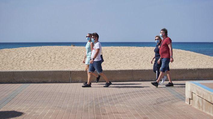 La temporada turística en Platja de Palma: